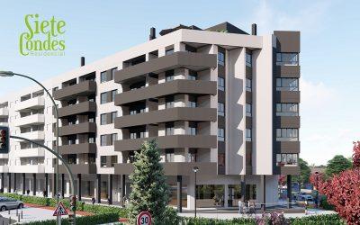 Placonsa comienza las obras del residencial Siete Condes. 35 viviendas en la avda. de Juan Pablo II. Cáceres